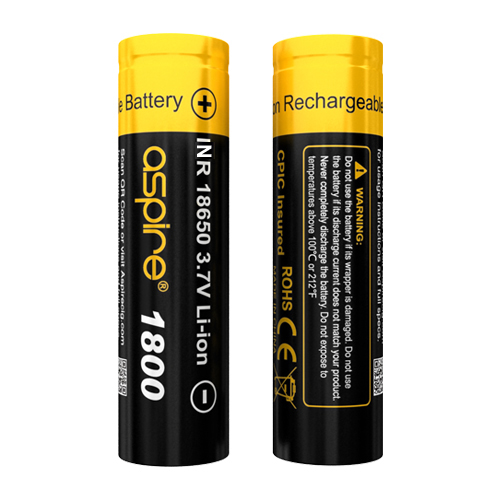 Aspire 18650 Battery(1800mAh)
